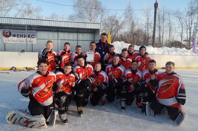 На Розе состоялся турнир по хоккею на кубок главы посёлка