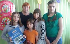 Полицейские Коркино поздравили воспитанниц детских центров