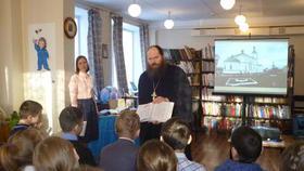 В детской библиотеке Коркино отметили день православной книги