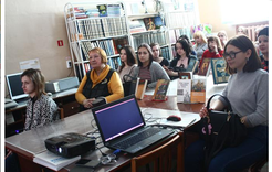 Коркинским студентам рассказали о православной книге