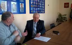 В депутатском центре Коркино прошёл очередной приём граждан
