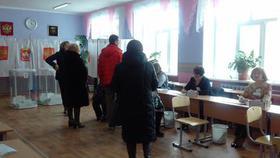 Явка на выборах в Коркинском районе приближается к 50 процентам