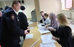 Полиция Коркино не зафиксировала нарушений в день выборов