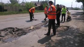 В Коркино отремонтируют около двух тысяч метров дорог