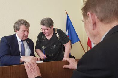 Анатолия Литовченко поблагодарил Совет муниципальных образований
