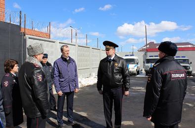 Сегодня в Коркино побывал генерал – руководитель полицейского главка