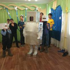 В коркинском центре помощи детям «Радуга» спасали планету