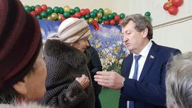 Депутат Госдумы работает сегодня в Коркино