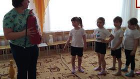 Дошкольники  Коркино стали юными пожарными