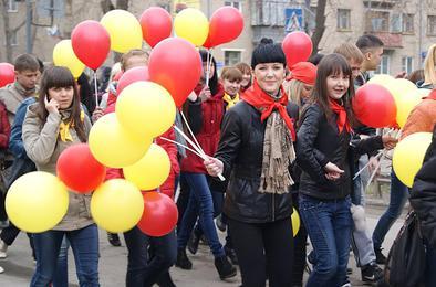 Коркинцев приглашают на празднование Первомая