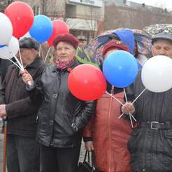 Коркинцы отметили День Весны и Труда
