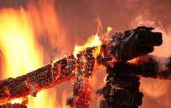 В Коркинском районе вчера произошло два пожара