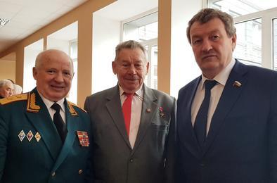 Ветераны области оценили работу депутата Госдумы