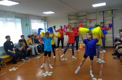 Воспитанники центра помощи детям «Радуга» провели спортивный праздник