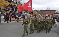 В Коркинском районе состоялся конкурс песни и строя