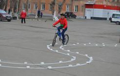 В Коркино соревновались юные велосипедисты