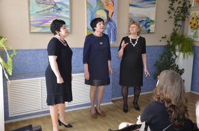 В коркинском выставочном зале презентовали гобелены
