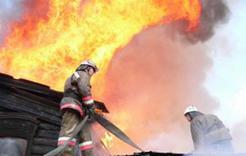 Вчера в Коркинском районе произошёл пожар в частном доме