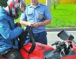 ГИБДД Коркино проверила мотоциклистов