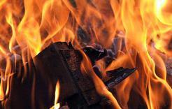 В Коркинском районе при пожаре погиб пенсионер