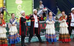 Коркинцы побывали на фестивале казачьей культуры