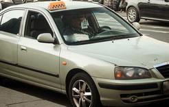 Коркинцы охотно пользуются услугами такси