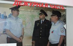 В Коркинском районе побывал с визитом начальник полицейского главка