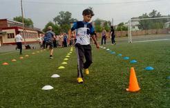 В Коркино стартовала спартакиада летних лагерей второй смены