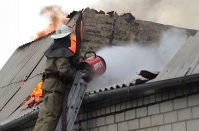 В Коркинском районе произошёл пожар в жилом доме