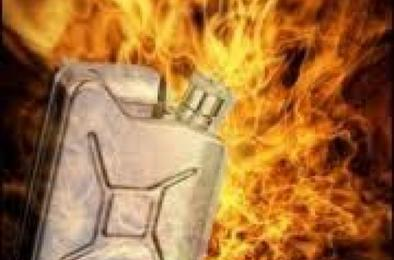 В Коркино мужчина получил ожоги из-за воспламенения бензина