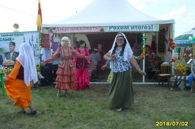 Коркинцы побывали на областном Сабантуе