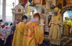 В Коркино побывал митрополит Челябинский и Миасский Никодим
