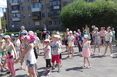 Коркинские дети приняли участие в танцевальном конкурсе