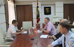 Глава Коркинского района провёл рабочую встречу с начальником отдела МВД