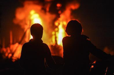 В Челябинской области на пожаре погибли дети