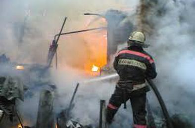 Житель Розы получил ожоги при пожаре