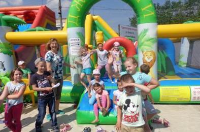 В коркинском летнем лагере устроили парад планет