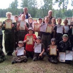 Юнармейцы Коркино проверили свои силы на полевых сборах