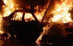 За сутки в Коркинском районе сгорело два автомобиля