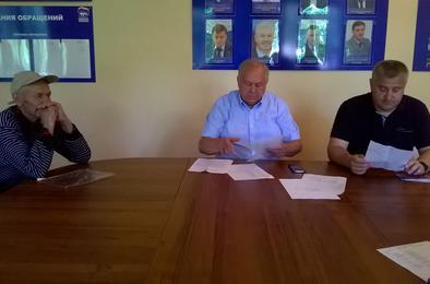 Коркинцев принял депутат Законодательного Собрания Николай Янов