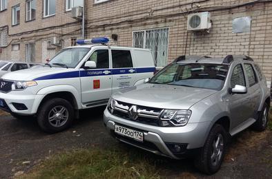 Коркинские полицейские получили новый служебный автотранспорт