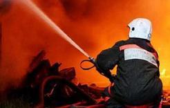 В Коркино хозяйственная постройка вспыхнула из-за неосторожности