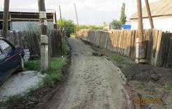 В посёлке Роза продолжается благоустройство микрорайонов