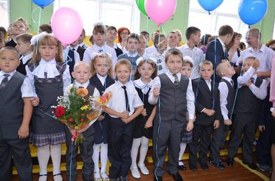 В Коркинском районе первоклассников стало на целый класс больше