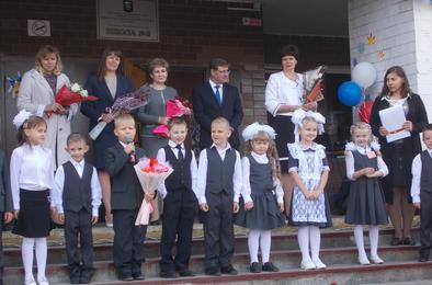 Коркинская школа № 8 получила подарок к юбилею