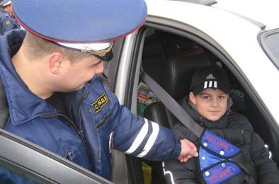 Пять коркинских водитель нарушили правила перевозки детей