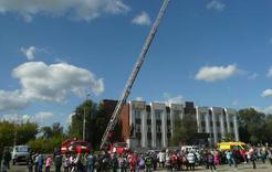 Школьники Коркино осваивали спасательную технику и средства защиты