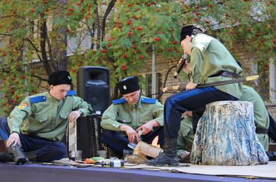 Полицейские Коркино участвовали в фестивале творчества