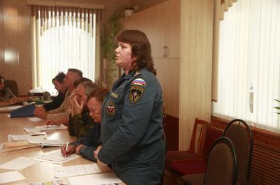 На Розе обсудили вопросы земли и безопасности