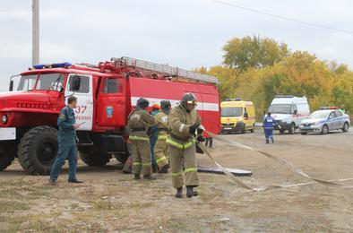 Коркинский район участвует во Всероссийской тренировке по гражданской обороне